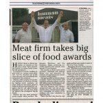 Hannan Meats Take big Slice of Food Awards