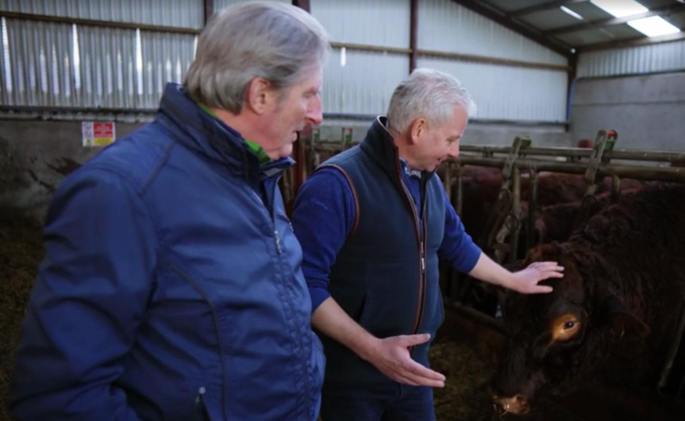 Adrian Dunbar visits Glenarm Estate
